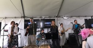 Playing the Food and Wine Festival