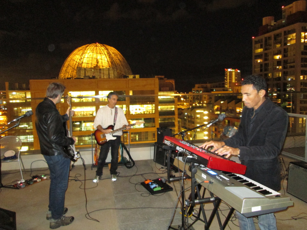 The Innocent Bystanders Downtown San Diego gig.