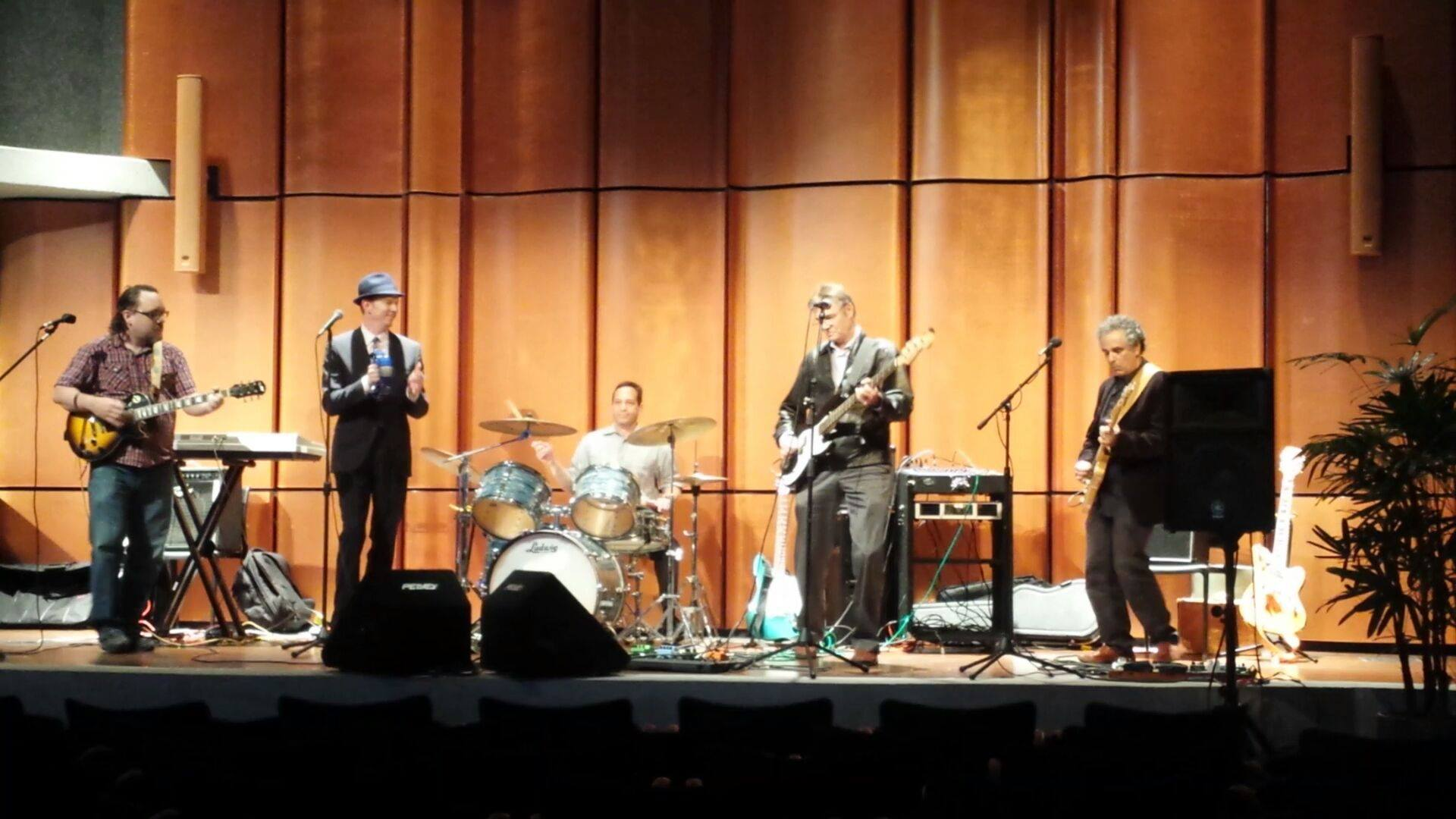 The Innocent Bystanders at the San Diego Central Library Auditorium - April 3 -2014