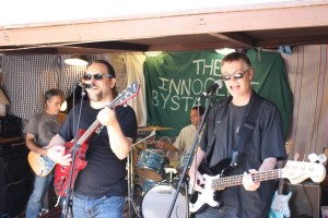 The Innocent Bystanders first performance in the Kensington Section of San Diego
