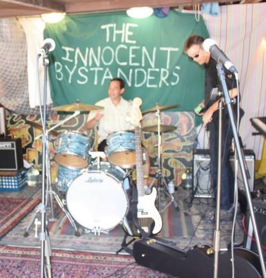 The Innocent Bystanders drummer Steve Berenson, May 2013