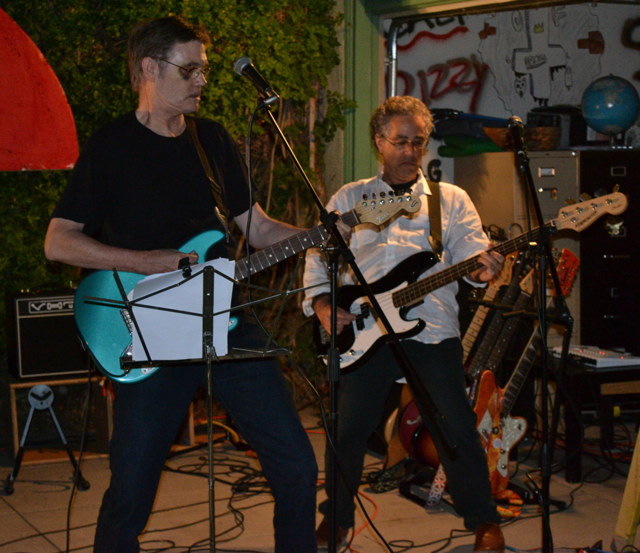 The Innocent Bystanders Play Live Music At A Backyard Party In San Diego