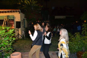 Innocent Bystander fans dancing in Kensington, San Diego