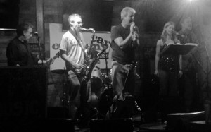 On Stage at The Company Pub