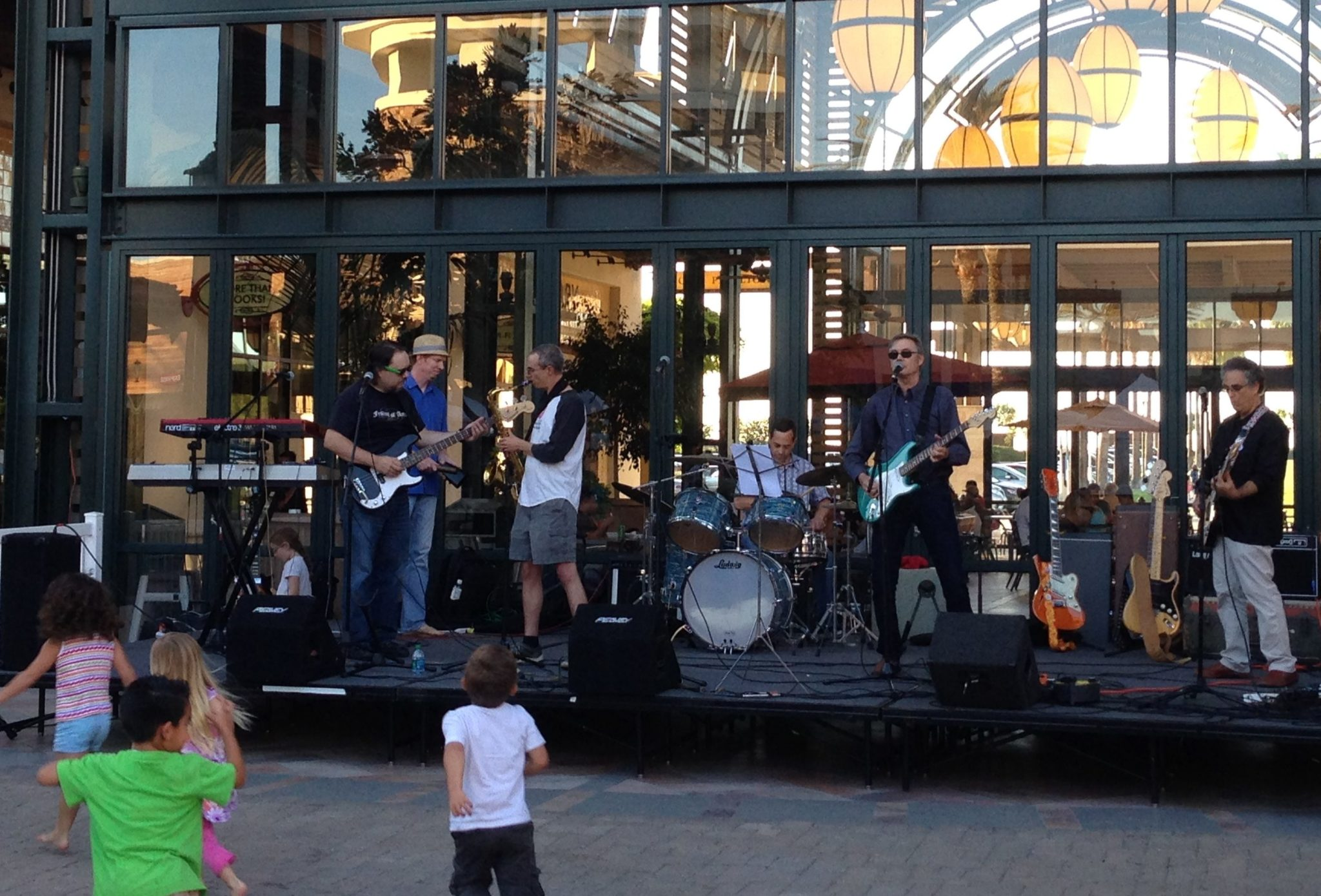 The Innocent Bystanders play live music at Otay Ranch Town Center, Chula Vista, San Diego County