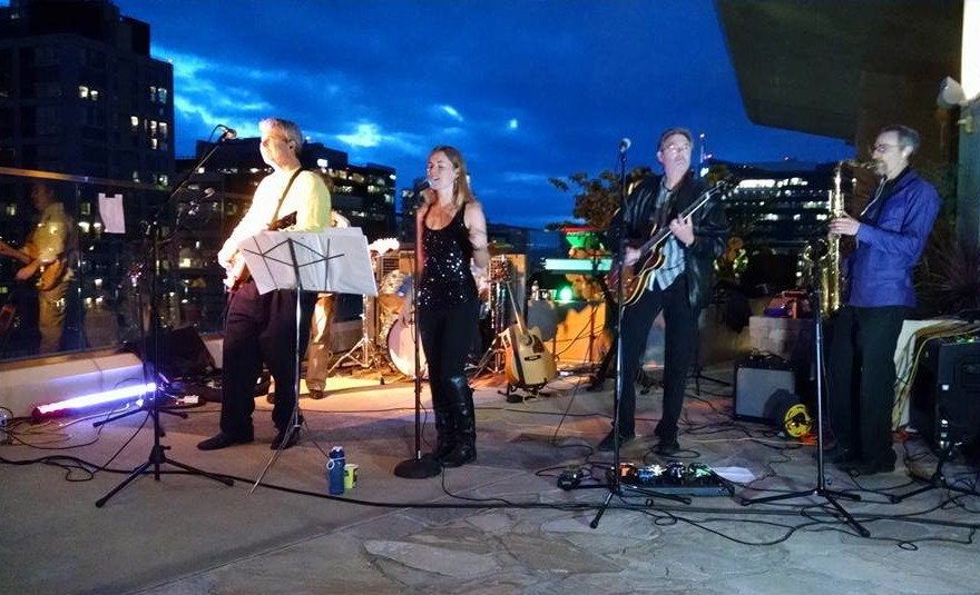 The Innocent Bystanders play rock, soul, blues, and jazz at parties and corporate events in San Diego, CA